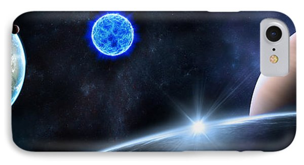 in Space Phone Case by Svetlana Sewell