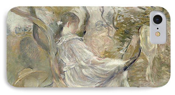 In The Apple Tree Phone Case by Berthe Morisot
