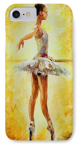 In The Ballet Class Phone Case by Leonid Afremov