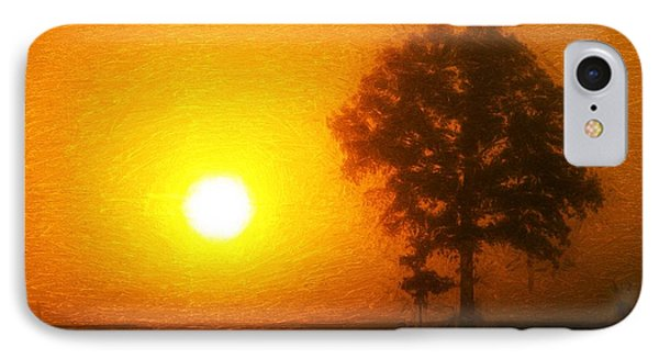 In The Beginning IPhone Case by Dan Sproul