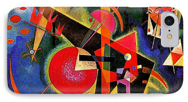 In The Blue IPhone Case by Kandinsky