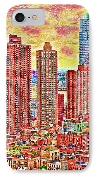 In The City IPhone Case by Barbara Manis