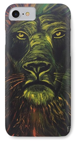 IPhone Case featuring the painting In The Dark by Brindha Naveen