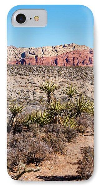 In The Desert Phone Case by Rae Tucker