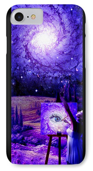 In The Eye Of The Beholder Phone Case by Robby Donaghey