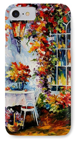 In The Garden Phone Case by Leonid Afremov