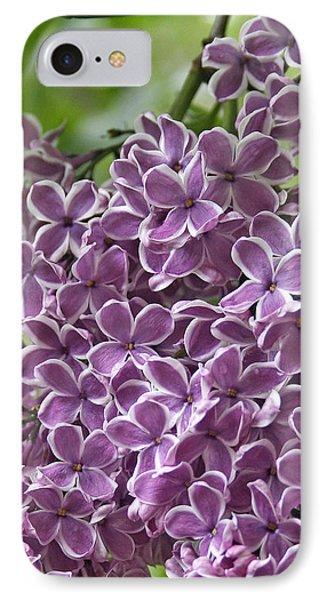 In The Garden. Lilac Phone Case by Ben and Raisa Gertsberg