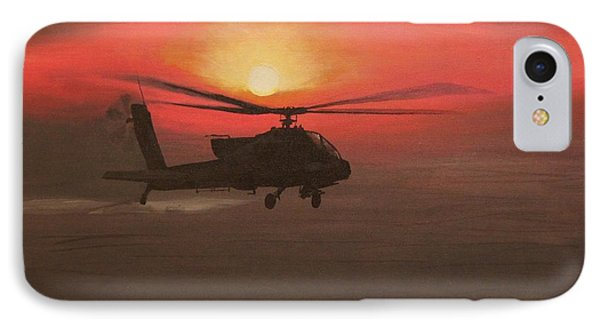 In The Heat Of Night Over Baghdad IPhone Case by Leo Amoling