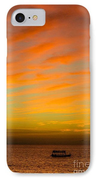 In The Heat Of The Night Phone Case by Rene Triay Photography