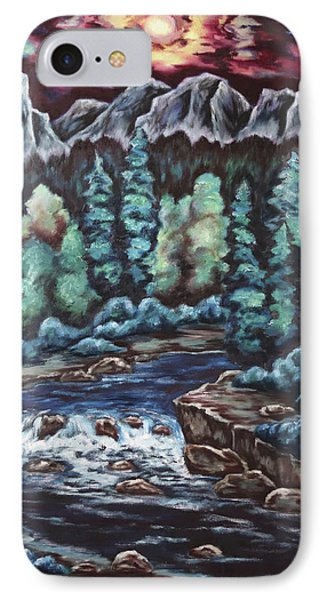 In The Land Of Dreams IPhone Case by Cheryl Pettigrew