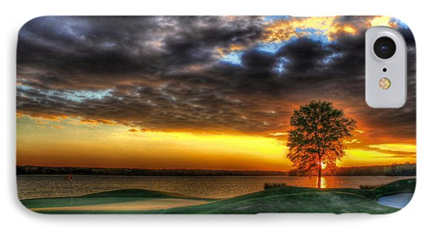 In The Limelight The Landing Reynolds Plantation IPhone Case by Reid Callaway