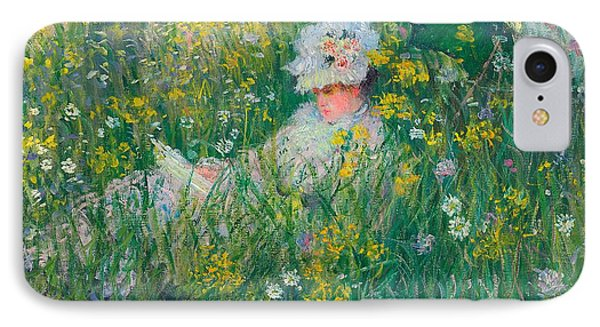 In The Meadow IPhone Case by Claude Monet