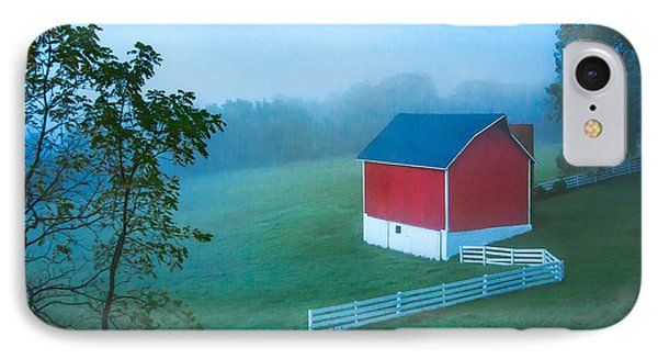 In The Midst Of The Mist IPhone Case by Todd Klassy