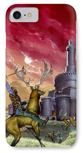 In The Red Lords Reach IPhone Case by Richard Hescox