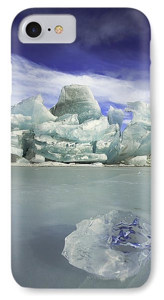 In The Rough IPhone Case by Ed Boudreau