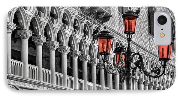 IPhone Case featuring the photograph In The Shadow Of The Doges Palace Venice by Carol Japp