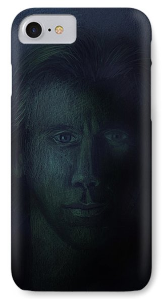 In The Shadows Of Despair Phone Case by Arline Wagner