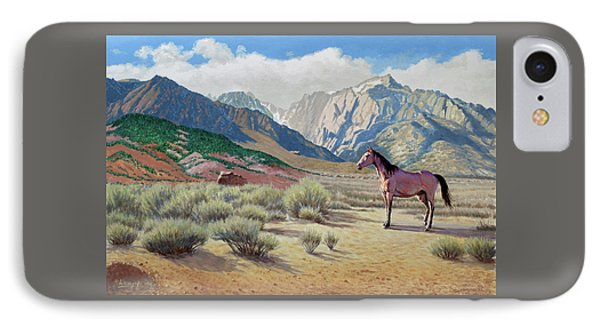 In The Sierras IPhone Case by Paul Krapf
