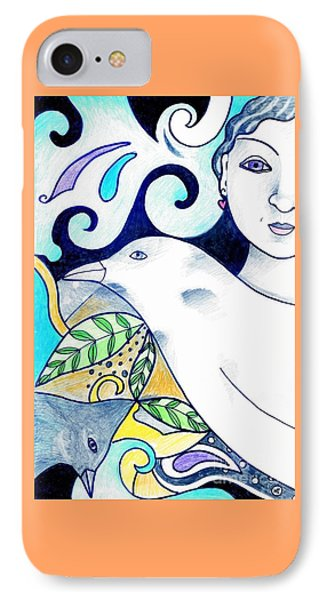 In The Spirit Of Unity 1 IPhone Case by Helena Tiainen