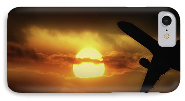 In The Suns Shadow IPhone Case by Martin Newman
