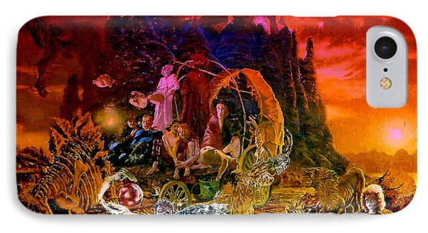 In The Theater Of Time IPhone Case by Henryk Gorecki