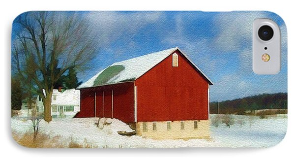 IPhone Case featuring the photograph In The Throes Of Winter by Sandy MacGowan