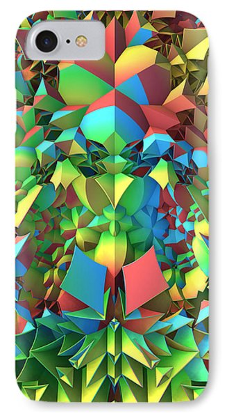 IPhone Case featuring the digital art In The Tropics by Lyle Hatch
