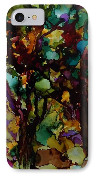 In The Woods IPhone Case by Alika Kumar