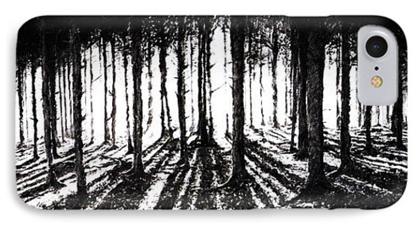 In The Woods 2 IPhone Case