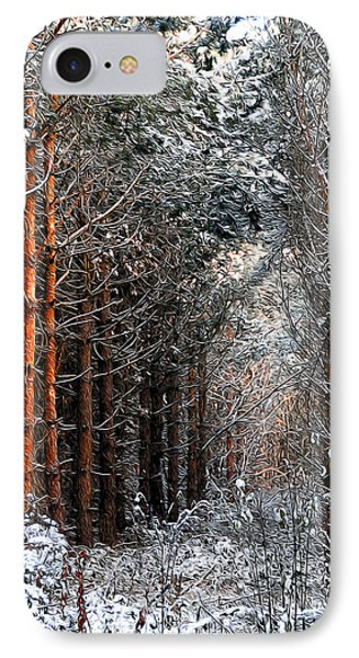 In To The Light Phone Case by Svetlana Sewell