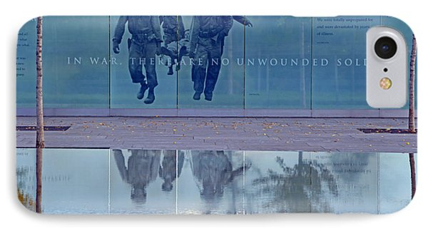 In War There Are No Unwounded Soldiers IPhone Case by Cora Wandel