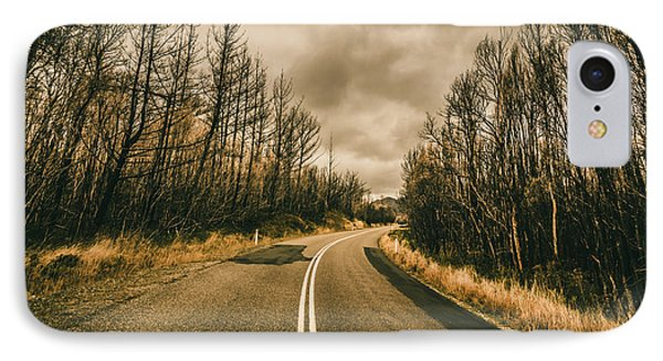 In Winters Way IPhone Case by Jorgo Photography - Wall Art Gallery