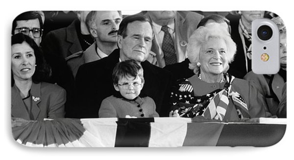 Inauguration Of George Bush Sr IPhone Case by H. Armstrong Roberts/ClassicStock