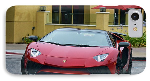 IPhone Case featuring the photograph Inbound Lambo by Bill Dutting