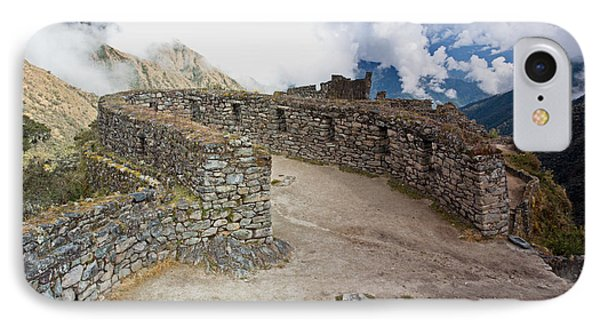 Inca Ruins In Clouds IPhone Case