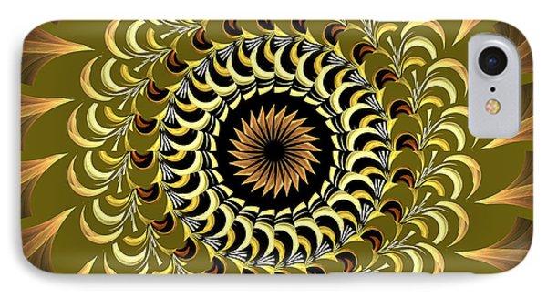 Incendia Kaleidoscope Phone Case by Deborah Benoit