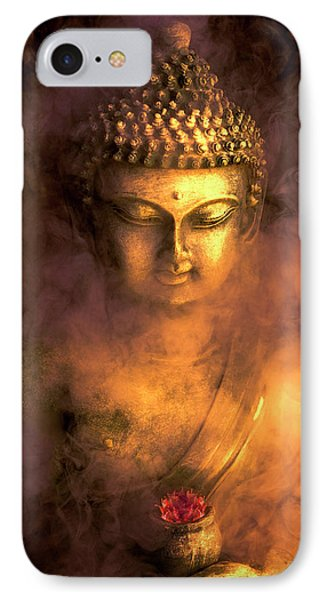 IPhone Case featuring the photograph Incense Buddha by Daniel Hagerman
