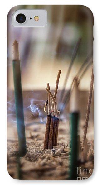 Incense Burning IPhone Case