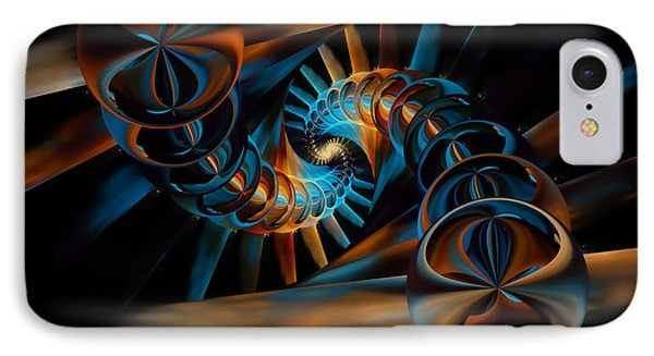 Inception Abstract Phone Case by Olga Hamilton