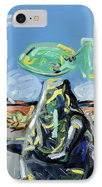 IPhone Case featuring the painting Incubator Of Anxiety by Ryan Demaree