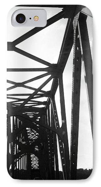 IPhone Case featuring the photograph Indefinite Sight Bw by Jamie Lynn