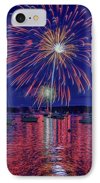 Independence Day In Boothbay Harbor IPhone Case