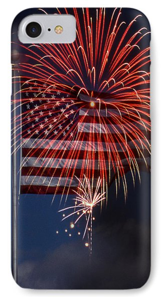 Independence Day Phone Case by Skip Willits