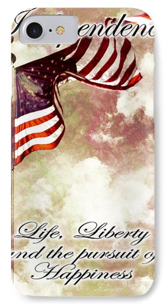 Independence Day Usa Phone Case by Phill Petrovic