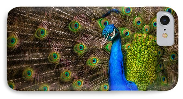 IPhone Case featuring the photograph India Blue by Rikk Flohr