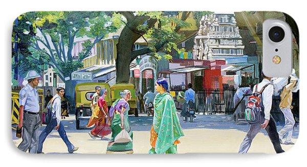 India Street Scene 2 Phone Case by Dominique Amendola