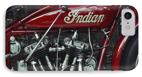 Indian 101 Scout IPhone Case by Tim Gainey