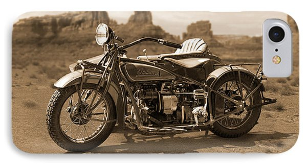 Indian 4 Sidecar Phone Case by Mike McGlothlen