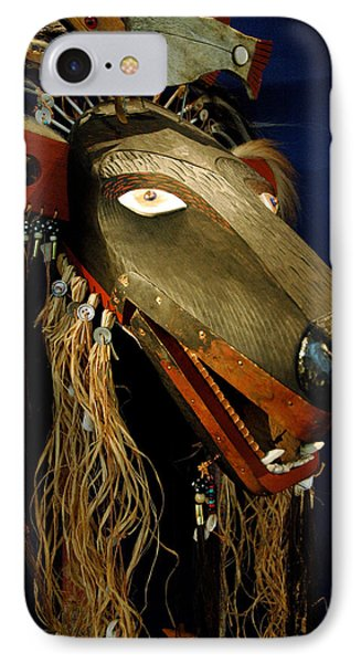Indian Animal Mask IPhone 7 Case by LeeAnn McLaneGoetz McLaneGoetzStudioLLCcom