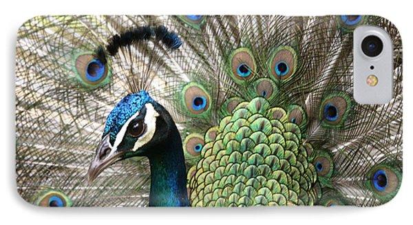 Indian Blue Peacock Puohokamoa Phone Case by Sharon Mau
